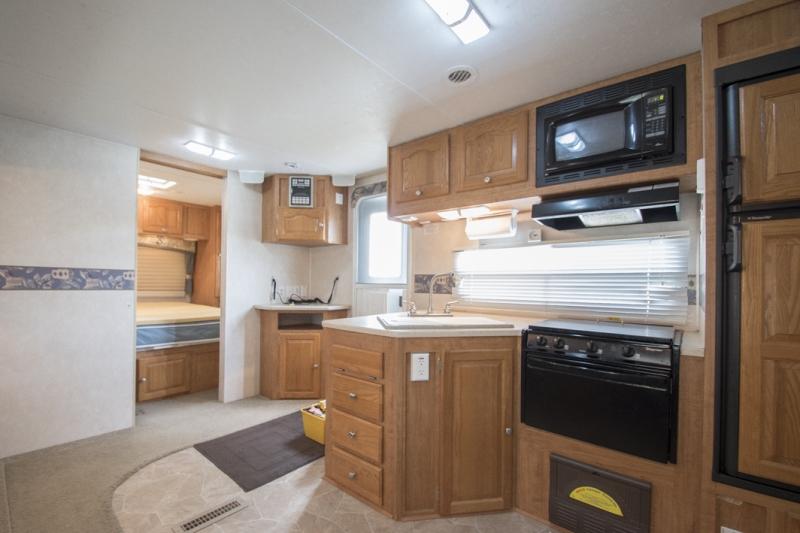 Inside Kitchen Big Jim S Rv Rentals